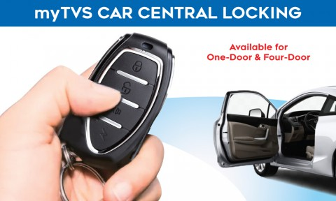 Enjoy the next-level of safety & convenience with mytvs Car Central Locking System