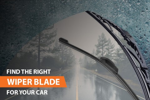 How to find the right wiper blade size for your car?