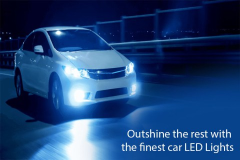 Outshine the rest with the finest car LED Lights