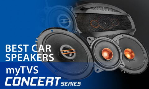 Upgrade to myTVS CONCERT Series Speakers for Club-like Sound in your Car