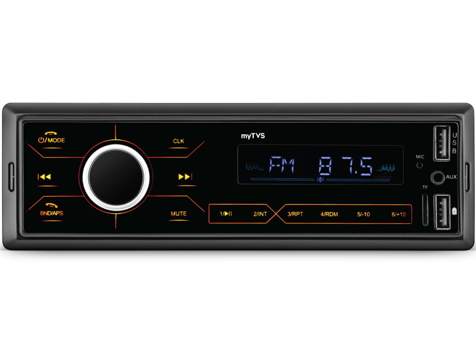 Entertain your senses with myTVS MP-T1 Dual USB Touch Screen MP3 Player