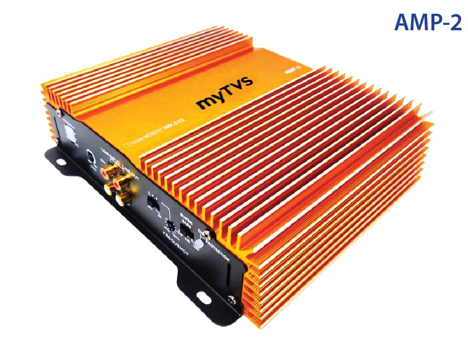 Buy high-quality 2 Channel Amplifier myTVS AMP-2 at lowest price