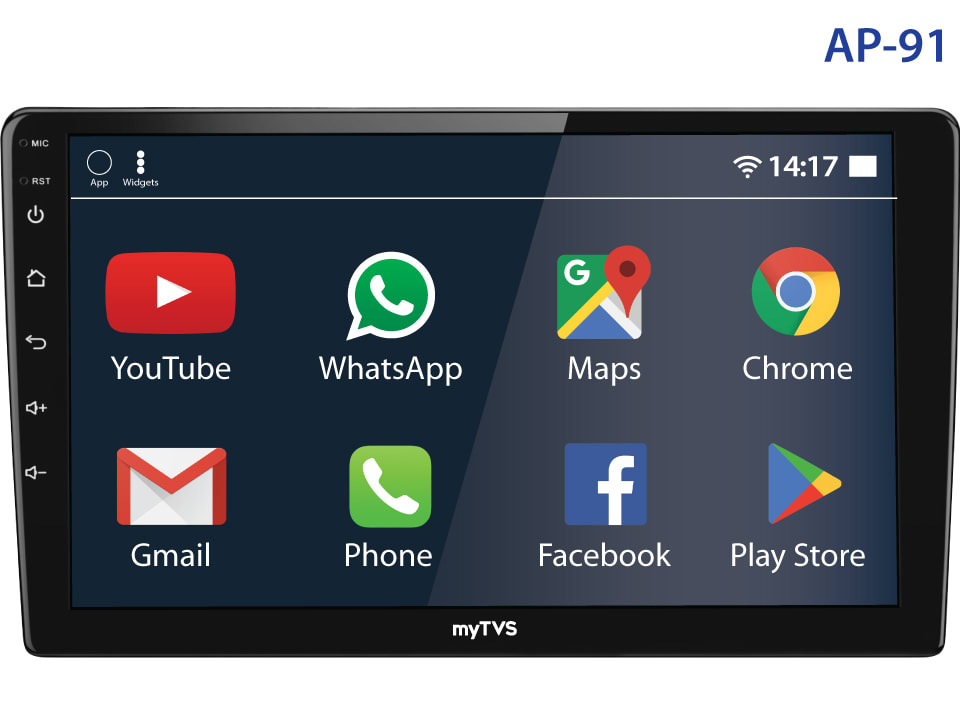 Buy online myTVS AP-91 Android Touch Screen Player at best price.