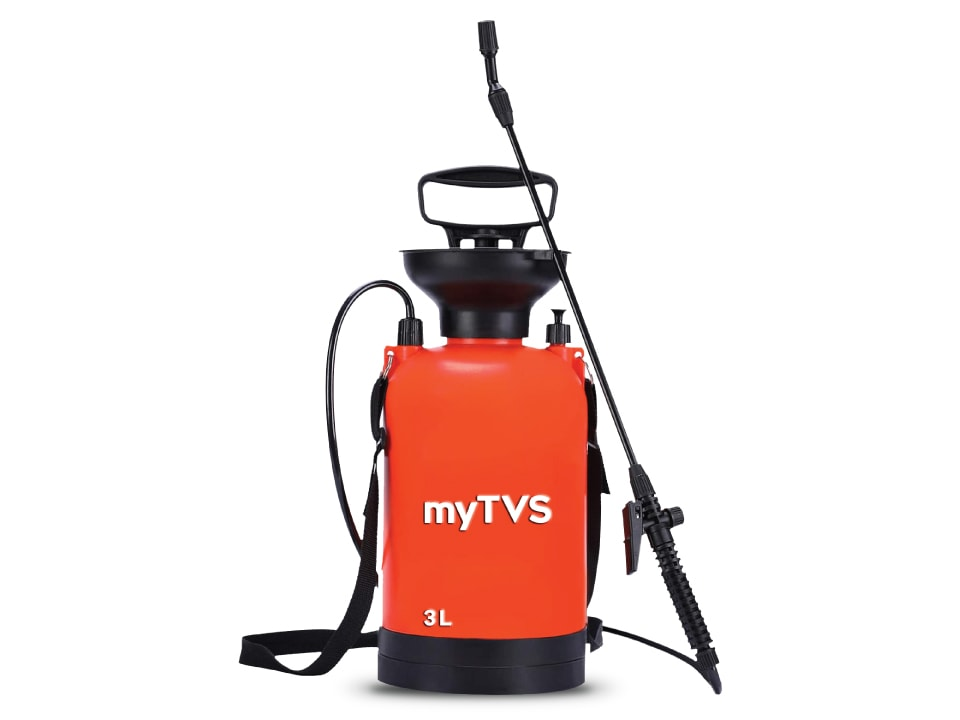 Sanitize and stay safe with myTVS PS-3 Pressure Sprayer, 3 Ltr.
