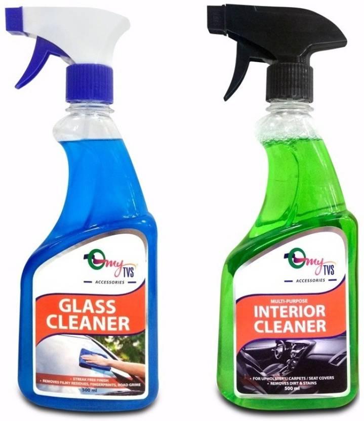 MYTVS Vehicle interior cleaner combo for Car GC1 Glass Cleaner (500 ml)+ MIC1 Multipurpose Interior Cleaner(500 ml)