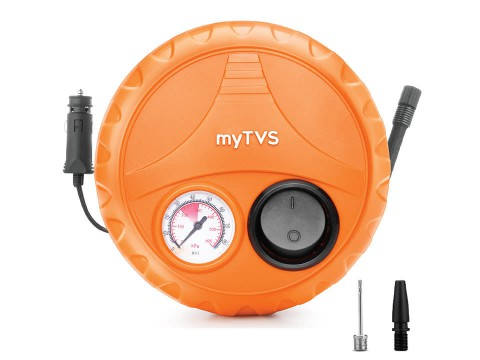 Analog Car?Tyre Inflator, for Hatchback cars, portable 80PSi Air Pump