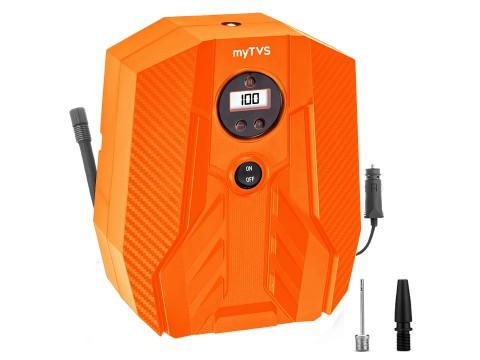 Heavy duty 100 Psi digital car tyre air pump - myTVS Air Champ TI-16