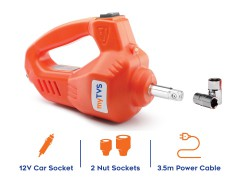 Buy online electric impact wrench myTVS TW-68 for your car at affordable price.