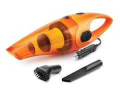 Portable car vacuum cleaner with HEPA filter, for deep cleaning